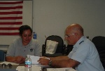 members Norma Cisneros and Bob Robins of Flotilla 3-5